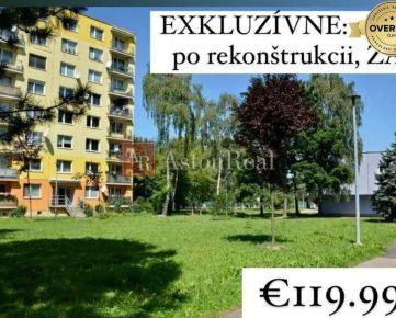 PREDANÉ: 2i byt po kompletnej rekonštrukcii, 56 m2, Hliny, Žilina