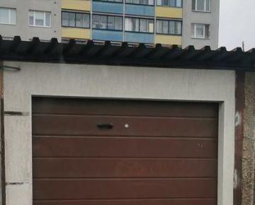 Na predaj garáž v OV vo vyhľadávanej lokalite Jarmočná, Košice IV. Juh