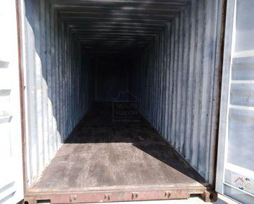"""Na prenájom lodný kontajner 40"""" HC, rozmer 12 x 2,5 x 2,7 m."""