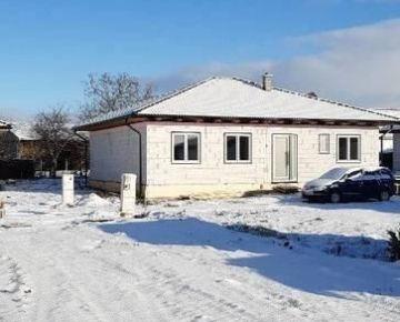 NOVOSTAVBA 150 m2, pozemok 640 m2 - Horná Seč (SM - 400)