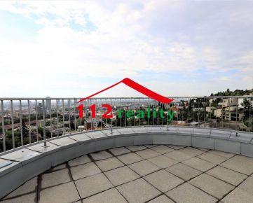 112reality - Na prenájom veľký 4 izbový byt,  2X terasa, garážové státie, pivnica, VILLA KALVARIA 2min. Horský Park