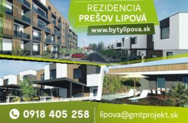 Rezidencia Lipová v Prešove