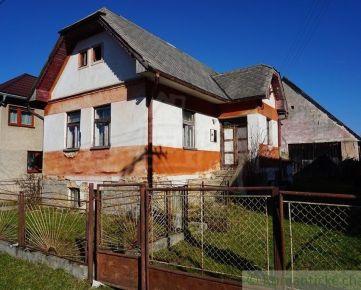 Na predaj dom v tichej časti obce Važec