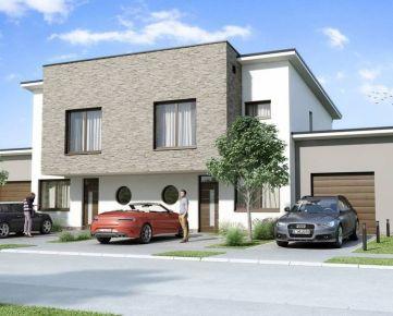 *** NOVOSTAVBA *** NA PREDAJ 4 izbový dom s garážou a pozemkom, nová časť, Dunajská Streda