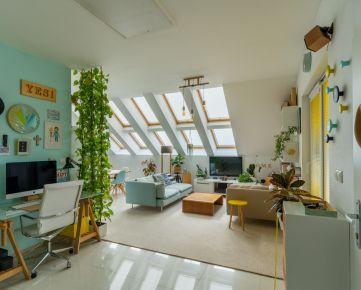Slnečný 3 izbový byt s terasou, podkrovím a vlastným parkovaním