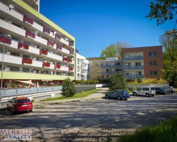 Prenájom 2 izb.  slnečná novostavba Lamač ul. Na Barine, 60 m2, zariadený, balkón, 3/4 dobrí susedia