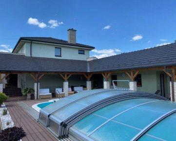 Predaj-Znížená cena- luxusná vila s bazénom a saunou Imeľ
