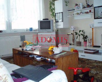 ADOMIS – predám  3-izbový byt, 54m2, Turňa nad Bodvou