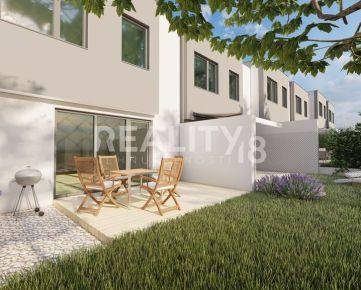 Predaj NOVOSTAVBA  domu so 4 izbami a vlastnou záhradou v radovej zástavbe - D.Lefantovce.