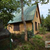 Záhradná chata 90m2, pôvodný stav