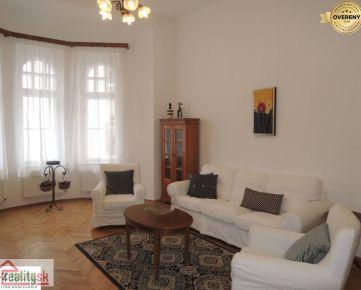 Prenájom 3 izb. zariadeného bytu, historické centrum, Klobučnícka ul.