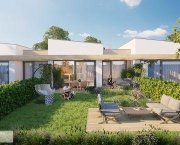 púpava development - 4 izbové rodinné domy v radovej zástavbe - Nitrianske Hrnčiarovce - exkluzívne iba u nás
