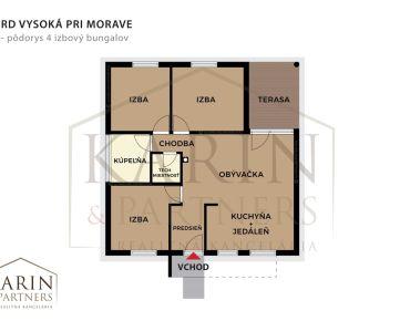 Predaj : 4 izbový rodinný dom Vysoká pri Morave