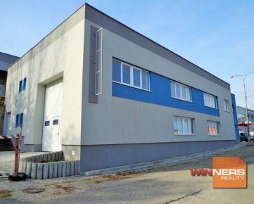 Predaj výrobná hala s administratívnymi priestormi Nitra, Čermáň – EXKLUZÍVNE WINNERS