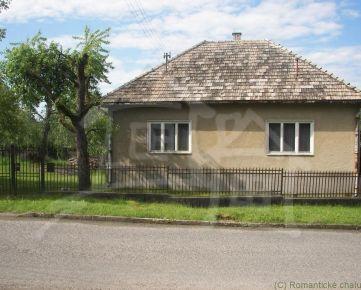 Dom alebo chalupa s veľkou záhradou v tichom prostredí Veľkej Vsi