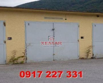 Na prenájom garáž v priemyselnom areáli v Ban. Bystrici, časť Majer