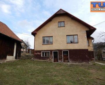 REZERVOVANÉ!EXKLUZÍVNE!!!Rodinný dom 4+1, Žilina-Divina, pozemok 1243 m2, v pôvodnom stave. CENA: 79 990 €