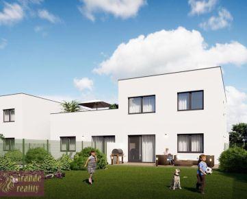 Novostavba 3 - izbového bytu 102,10 m2, pozemok 400 m2, parkovacie státie 2x, 102.500 € !!