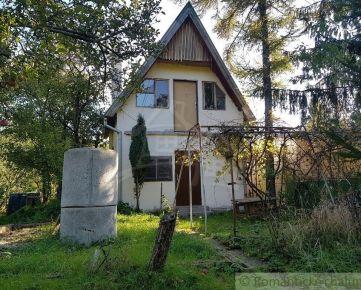 Murovaná chatka v Trnave časť Kamenný mlyn na predaj.