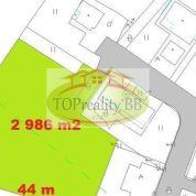 Pozemok pre rodinné domy 2986m2