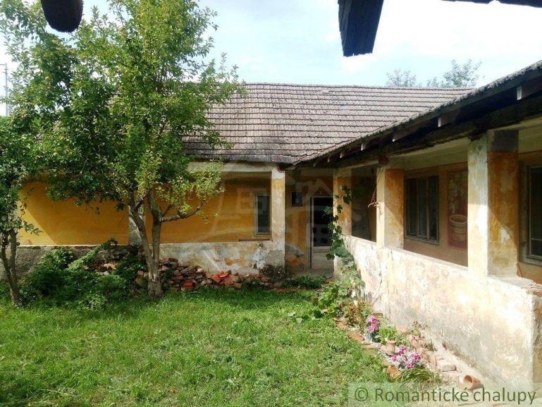 Chalupa, rekreačný domček 120m2, pôvodný stav