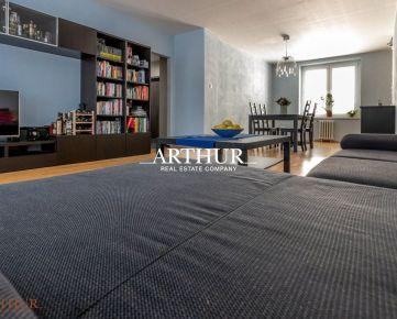 ARTHUR - TOP CENA - 4  izbový byt v centre mesta po kompletnej rekonštrukcii