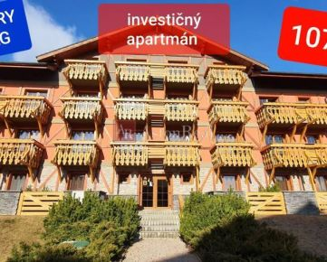 Exkluzívne-Investič. apartmán Vys. Tatry-V. Lomnica s odp. DPH
