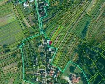 Na predaj pozemky – orná pôda, Pružina (okr. Považská Bystrica)