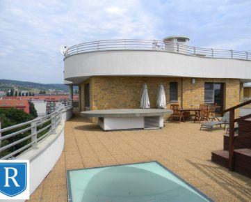 IMPREAL »»» Ružinov »» Luxusný ***** * 4-izbový penthouse s dvoma terasami, vlastným bazénom a výhľadom na hrad, rezidencia  Gaudi » cena 2.500,- EUR ( English text inside )