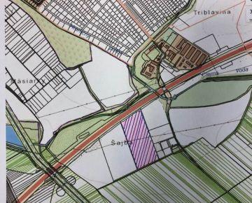 Ponúkame na predaj  pozemok 80 000m2 ,vedľa diaľnice D4,medzi Bratislavou a Sencom - časť Triblavina