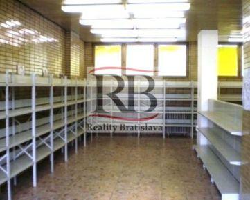 Nebytový priestor na Bohrovej ulici v Petržalke, 370m2