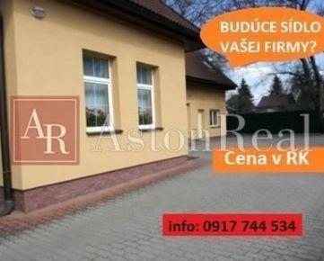 TEHLOVÝ DOM - sídlo firmy, pozemok 650 m2, Banská Bystrica - Majer