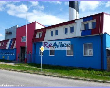 Komerčná budova s pozemkom 2429 m2, parkovacími plochami, kancelárskymi priestormi, autodieľňou v BN pri hlavnom ťahu TN - Prievidza