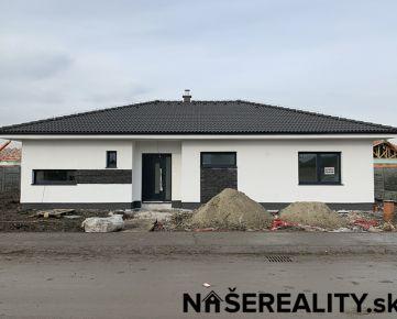 Skolaudovaná novostavba 4izb. bungalovu 122m² na pozemku 515m² v Malom raji