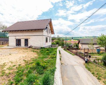Rozostavaný rodinný dom, predaj, Vajkovce, Košice - okolie