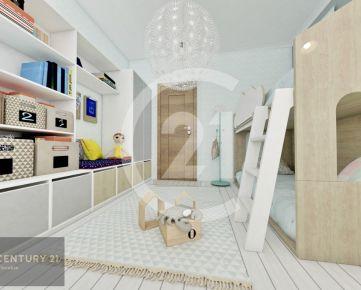 Moderné bývanie v 4 izb. byte  v novostavbe