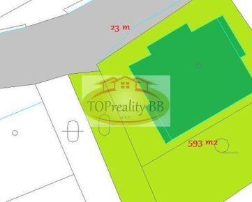 Rodinný dom s pozemkom  593 m2, v Banskej Bystrici v Radvani  –  Cena: 268 000 €