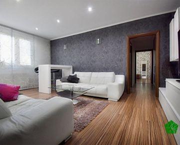 Krásny zrekonštruovaný 3 izbový byt, BA II. Ružinov, Exnárová ulica