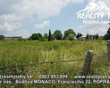 Stavebný pozemok v obci BATIZOVCE na výstavbu Bytových domov, OV, výmera 11 000 m2 - príležitosť pre developerov a investorov !!!