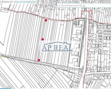 1144m2 Záhorska Bystrica investičný stavebný pozemok