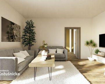 NA PREDAJ | 2 izbový byt 59m2 + veľký balkón, 4np. - Rezidencia Kožušnícka / byt A24