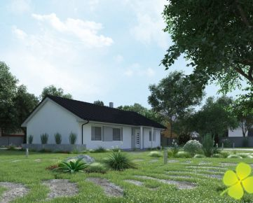 Novostavba – 4 izbový rodinný dom bungalov Zemianske Kostoľany