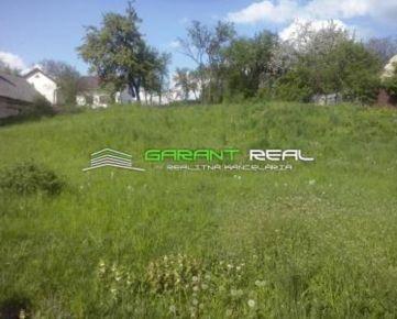GARANT REAL - predaj stavebný pozemok, 702 m2, Mošurov, okr. Prešov