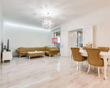 HERRYS - Predaj - 5 izbový veľkometrážny kompletne rekonštruovaný byt s vysokými stropmi a zimnou záhradou v Starom Meste