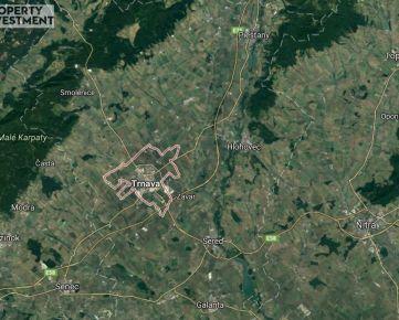 Stavebný pozemok na logistické centrum pri diaľnici - Trnava