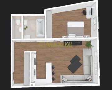 2-izbový byt v City Residence