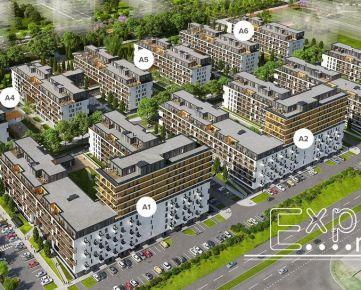 PRENÁJOM ešte neobývaný 1 izb. byt Bratislava Petržalka novostavba Slnečnice Mesto - EXPISREAL