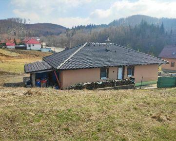 Novostavba s terasou v obci Zlatá Baňa  -  15 km od mesta Prešov