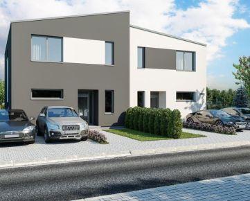 Mezonetové 3 izbové byty v moderných dvojdomoch v projekte Nová Studienka