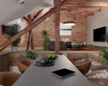 Prenájom - luxusný 3 izbový byt, centrum mesta, parkovanie